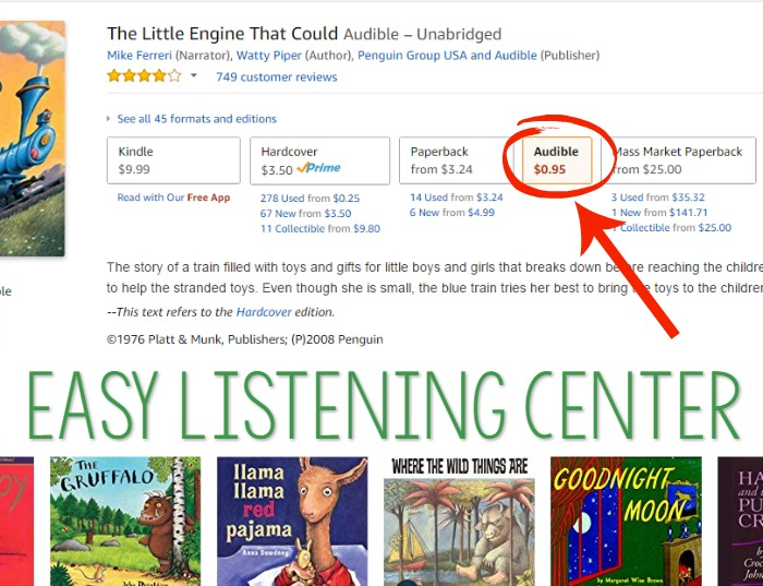 Amazon Audible Listening Center