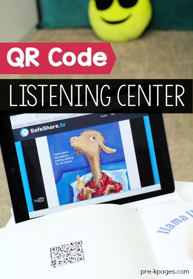 How to Make a QR Code Listening Center