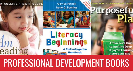 Professional Development Books for Pre-K Teachers
