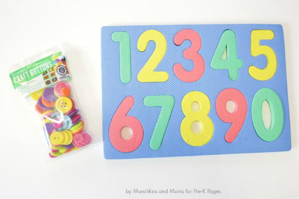 button counting math kindergarten
