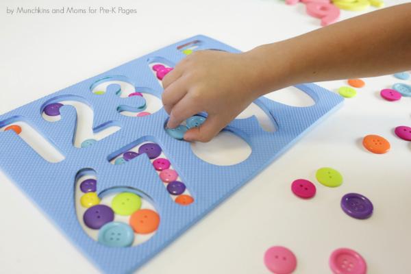 counting number skills preschool