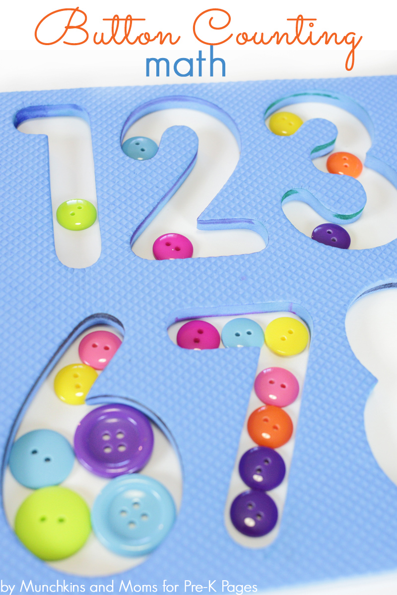 button counting for preschool