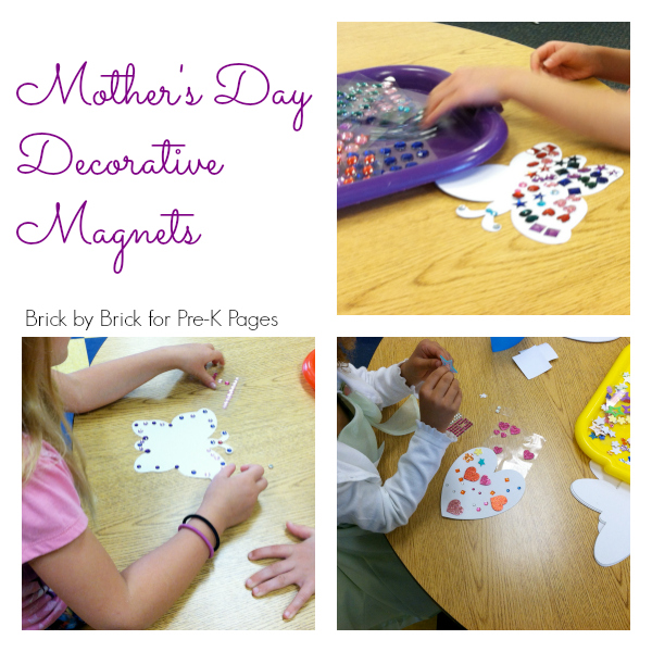 mothers day decorative magnets pre-k