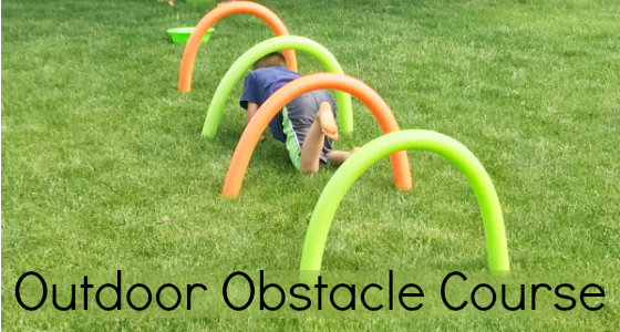 Outdoor Obstacle Course
