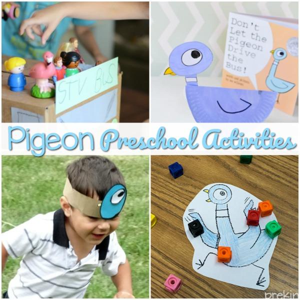 Mo Willems Pigeon Book Activities for Preschool