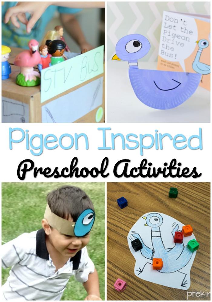 Pigeon Book Preschool Activities