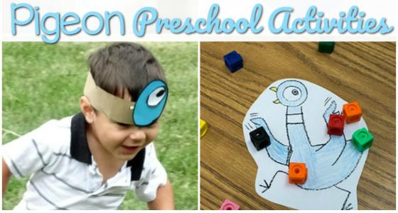 Pigeon Activities for Preschoolers
