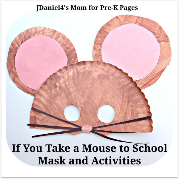 mouse to school book activities