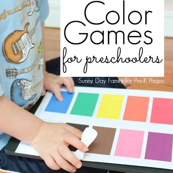 color games for preschool