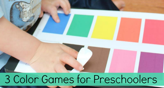 3 Fun Colors Games for Preschoolers
