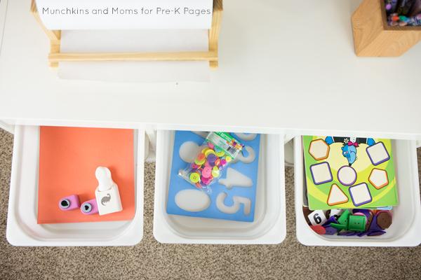 morning work ideas preschool