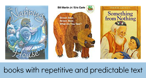 Books with Repetitive, Predictable Text