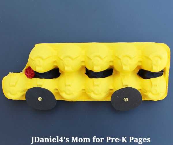 make a bus for preschool