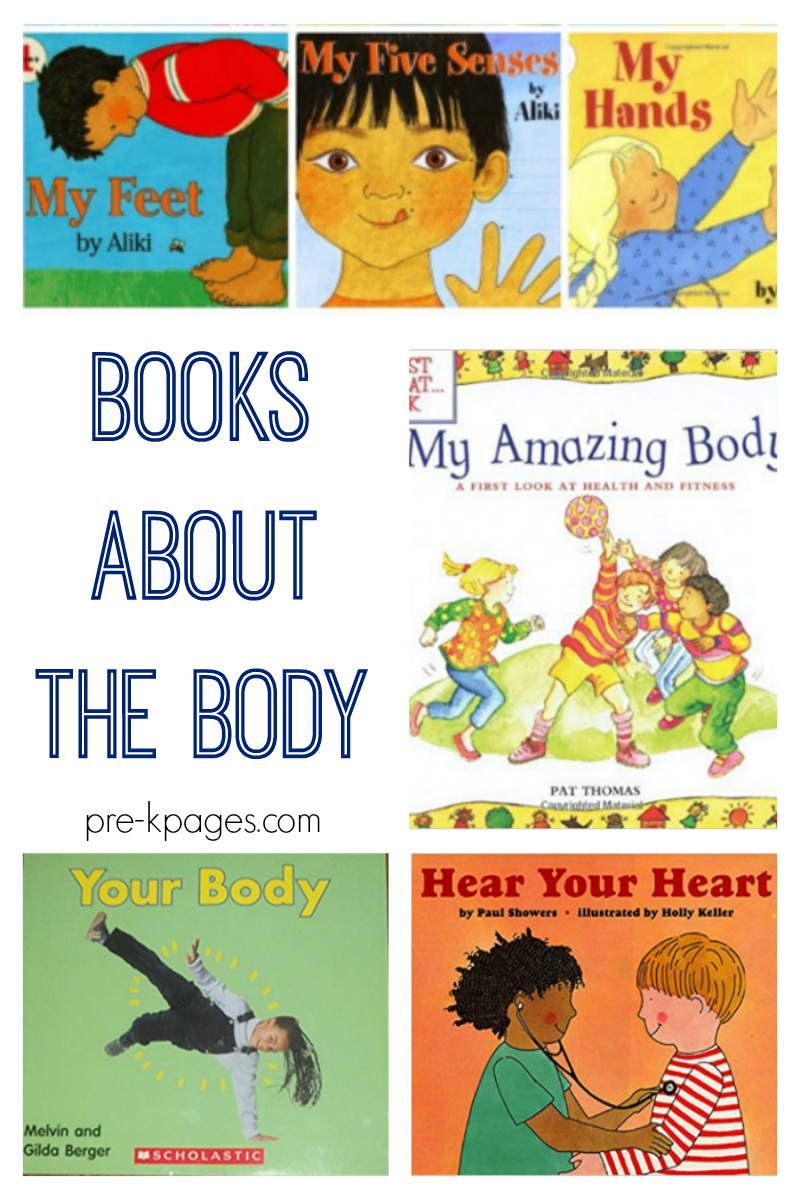 books on body image  Books About the Body for Preschoolers - Pre-K Pages