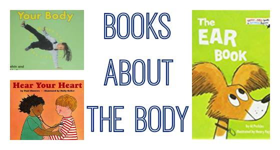 Books About the Body for Preschoolers