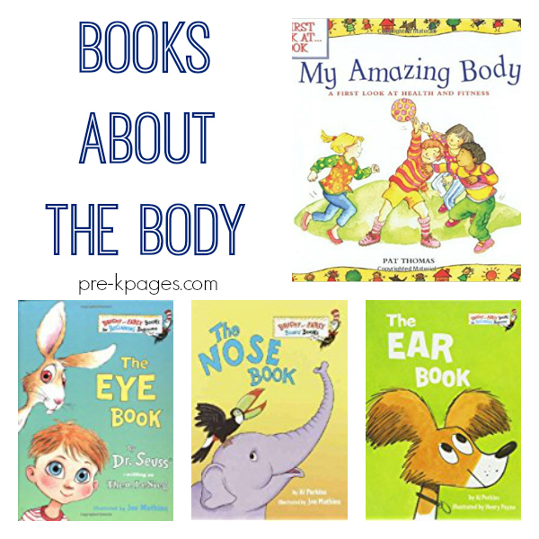 books about the body pre-k