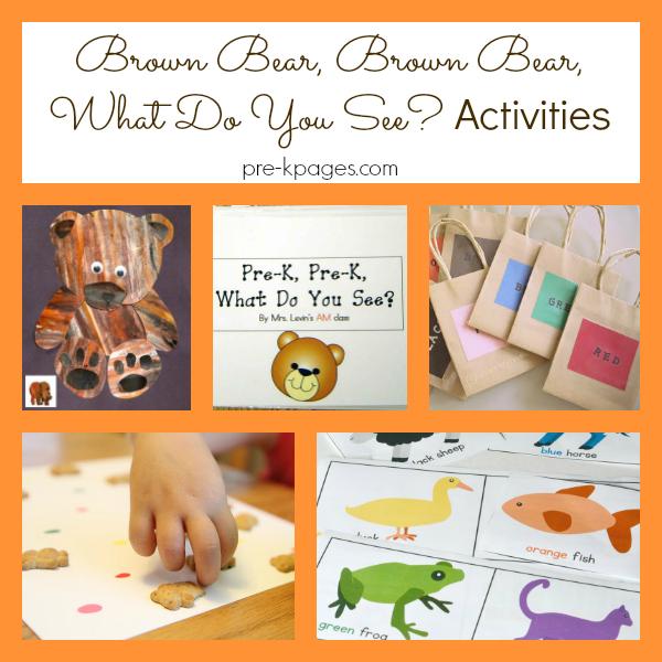 brown bear activities pre-k