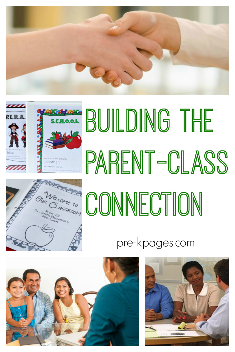 building parent class connection preschool