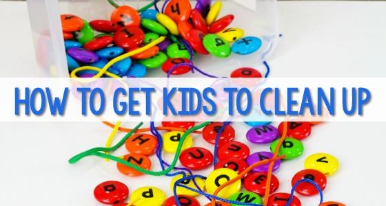 How to get kids to clean up in Preschool