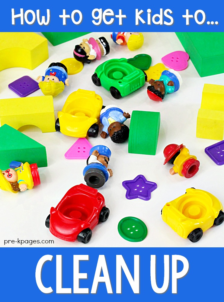 How do you get kids to clean up in the classroom