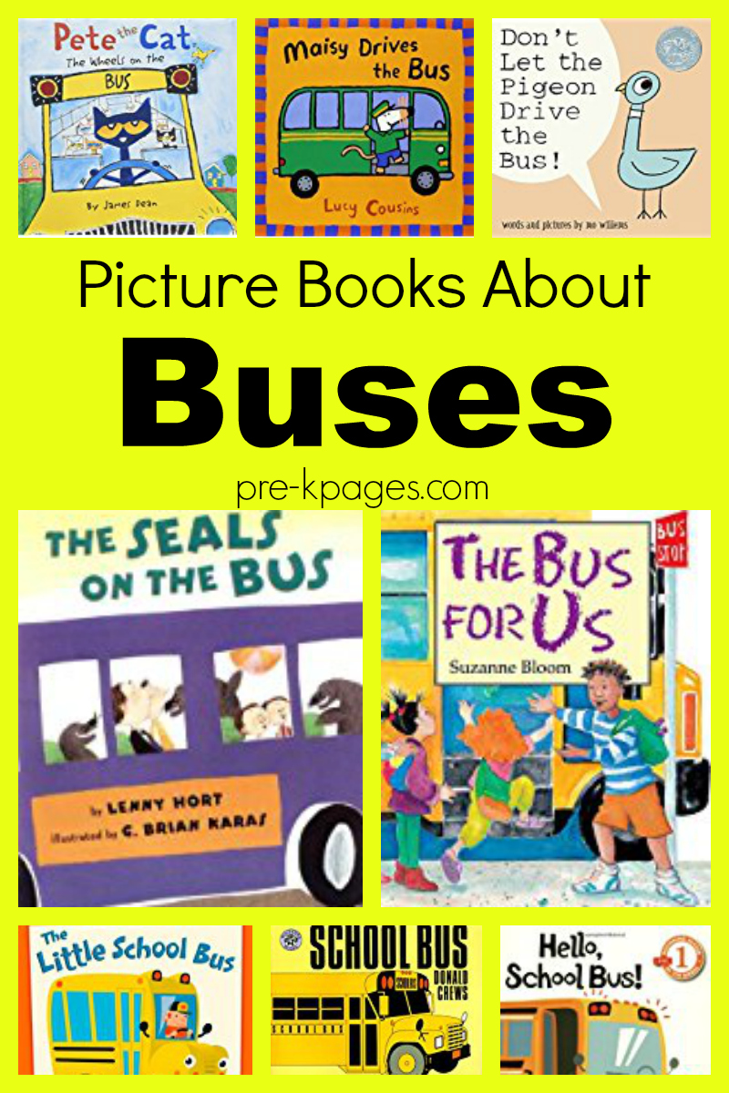 picture books about buses for preschool