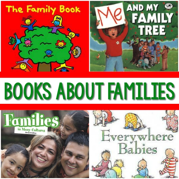 Books for a Family Theme in Preschool