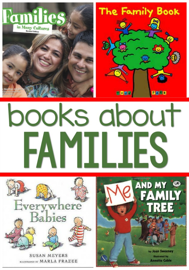 Family Theme Books for Preschool and Pre-K