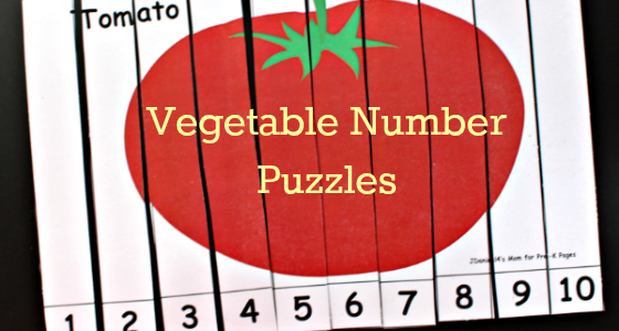 vegetable number puzzles