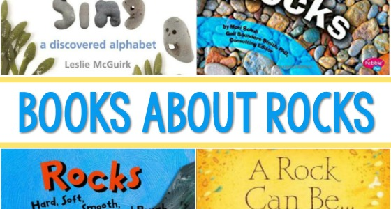 Books About Rocks for Preschoolers