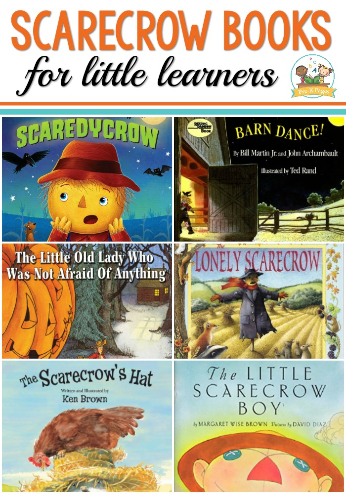 Scarecrow Books for Preschool and kindergarten