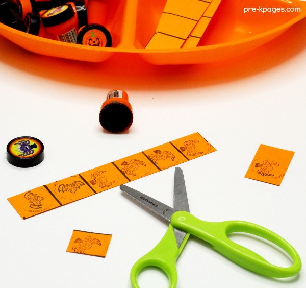 Halloween Fine Motor Stamping Activity