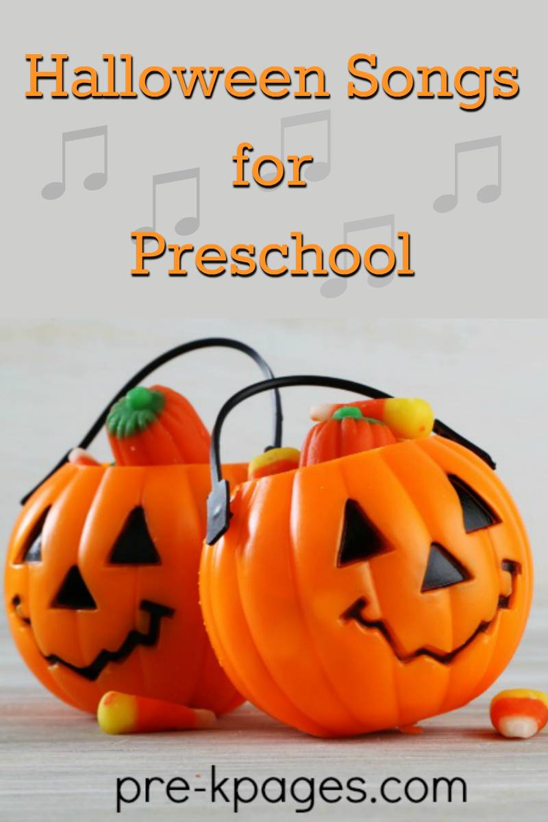 Halloween Songs for Preschool - Pre-K Pages