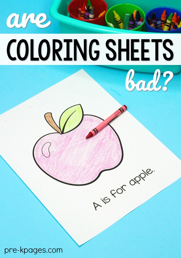 Are Coloring Sheets Bad for Kids