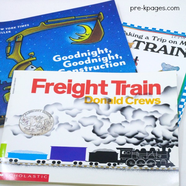 Books About Transportation for Preschoolers