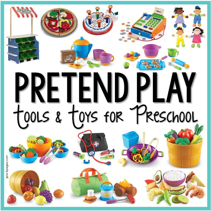 Dramatic Play Tools and Toys for Preschool Classroom
