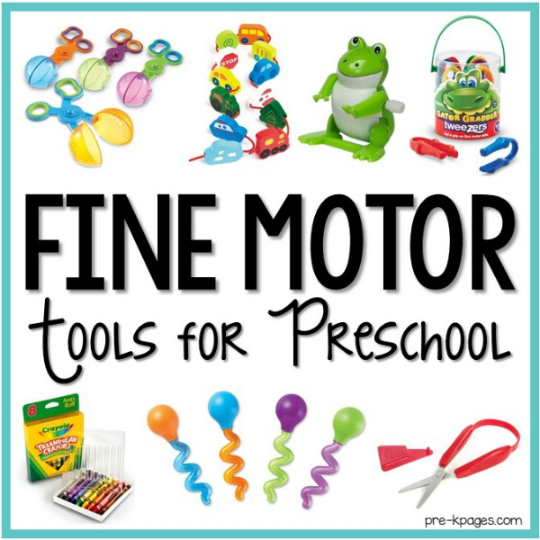 How to Develop Fine Motor Skills in the Preschool Classroom