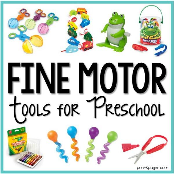 How to Develop Fine Motor Skills in the Preschool Classroom