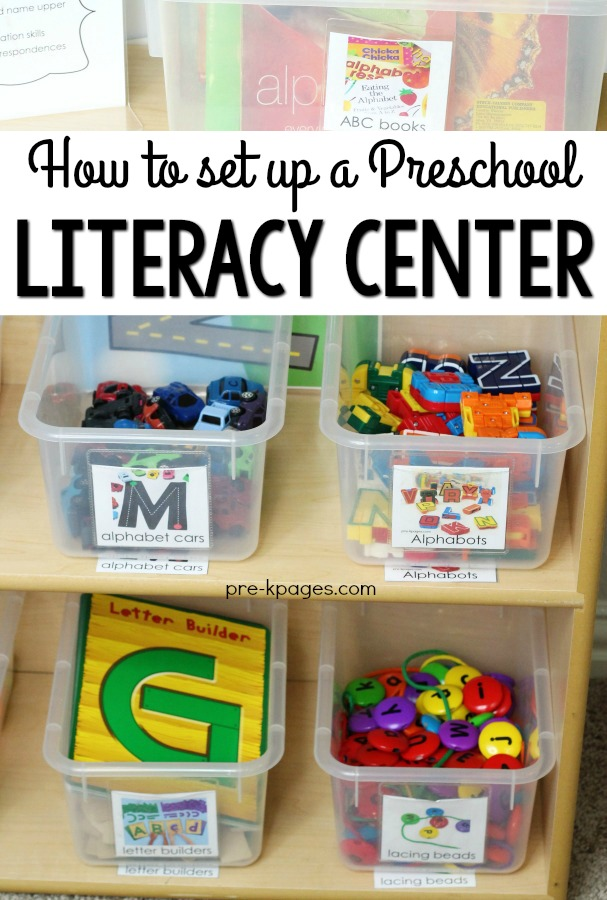 How to Set Up a Preschool Literacy Center