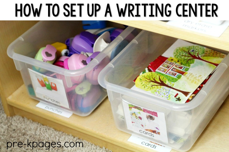 How to Set Up a Writing Center in Preschool