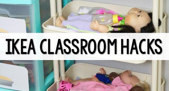 Ikea Classroom Hacks for Preschool