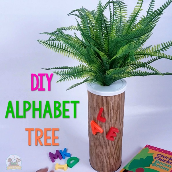 Magnetic Alphabet Tree Chicka Chicka Boom Boom