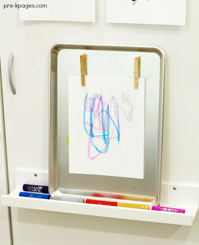 Mosslanda Picture Shelf Ikea Classroom Hack Easel