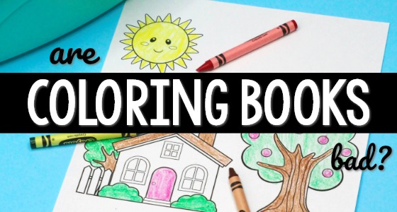 Are Coloring Books Bad For Kids