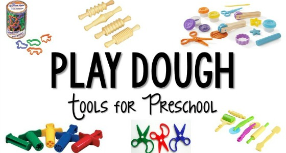 Play Dough Tools and Toys for Preschool