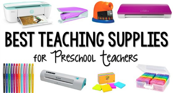 Best Teaching Supplies for Preschool Teachers