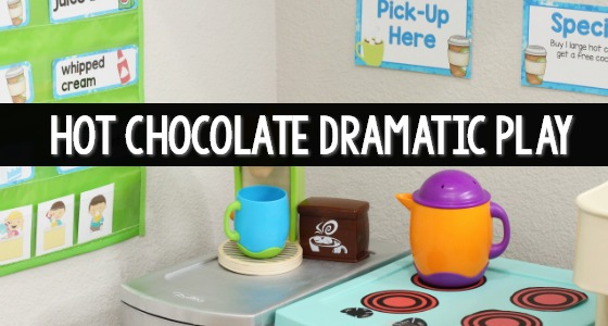 Hot Chocolate Dramatic Play Printables Cover