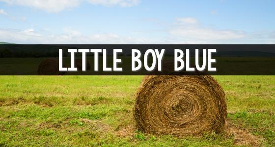 Little Boy Blue Nursery Rhyme activities for Preschool and Kindergarten