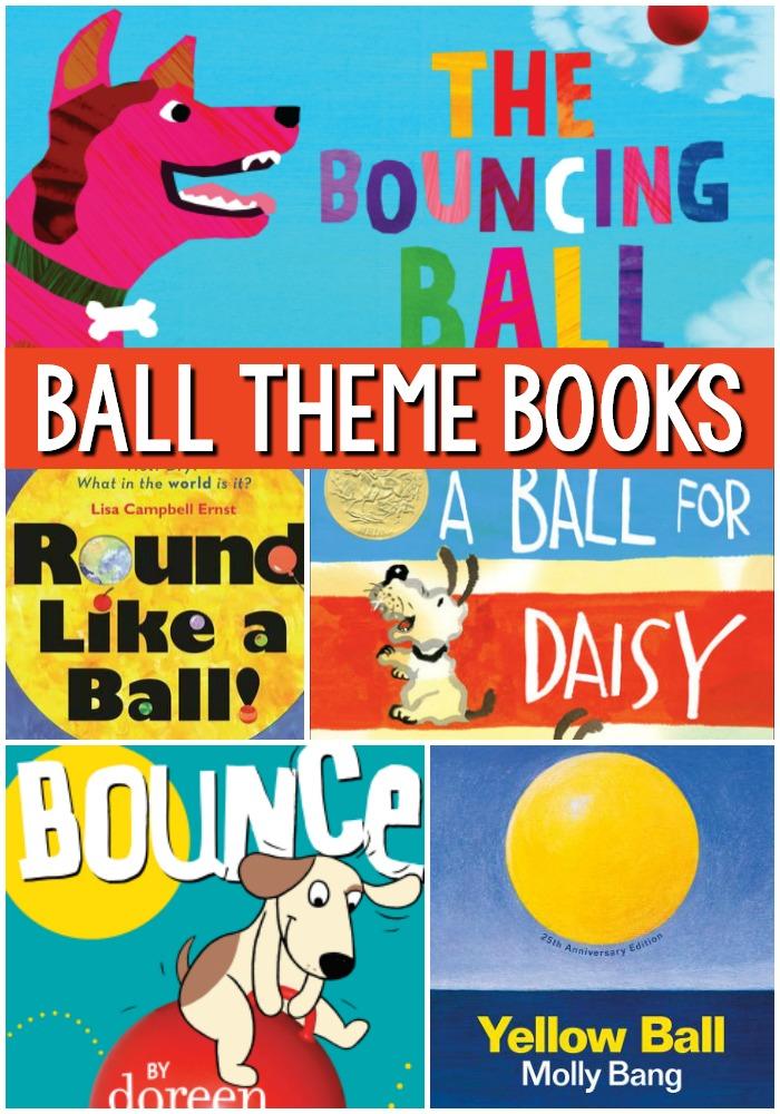 Ball Theme Books for Preschool