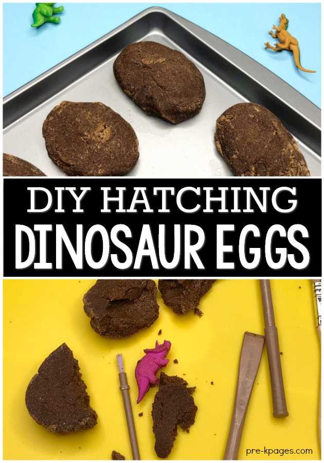DIY Hatching Dinosaur Eggs for Kids