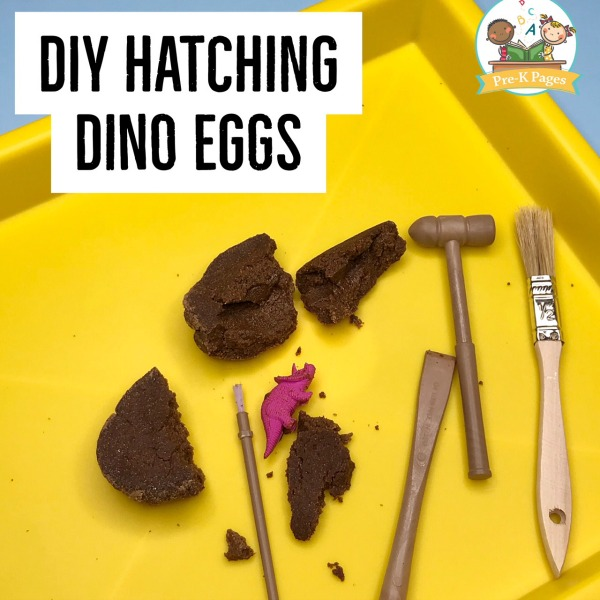 Dinosaur Egg Hatching Recipe